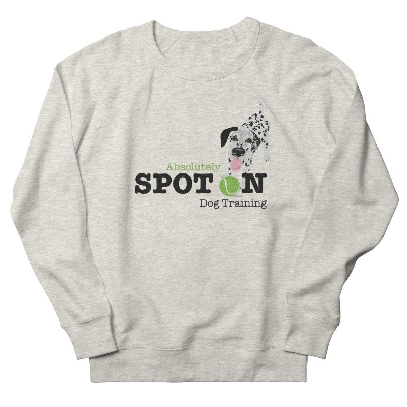 Absolutely Spot On Dog Training Men's Sweatshirt by Absolutely Spot On Dog Training