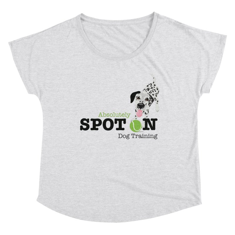 Absolutely Spot On Dog Training Women's Scoop Neck by Absolutely Spot On Dog Training