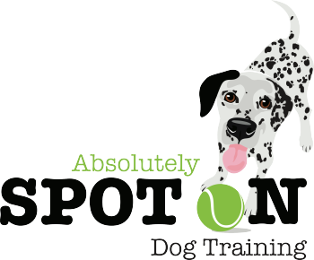 Absolutely Spot On Dog Training Logo