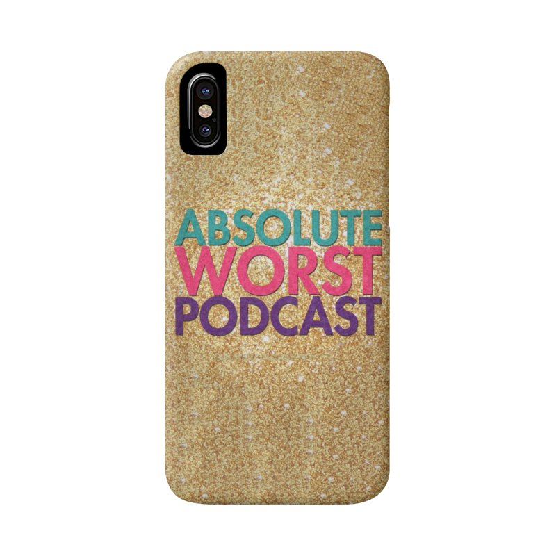 Absolute Worst Podcast Logo Accessories Phone Case by Absolute Worst Podcast