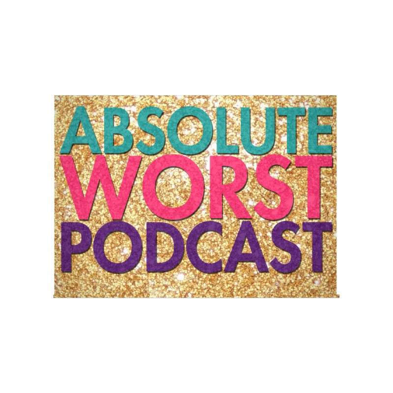 Absolute Worst Podcast Logo Men's Zip-Up Hoody by Absolute Worst Podcast