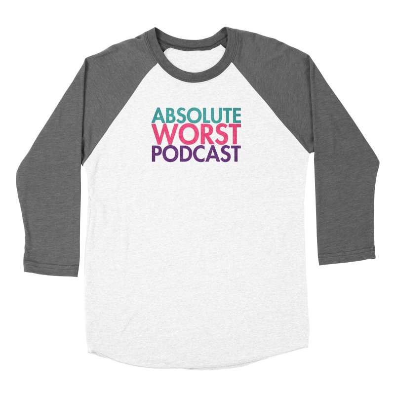 Absolute Worst Podcast Logo Women's Longsleeve T-Shirt by Absolute Worst Podcast