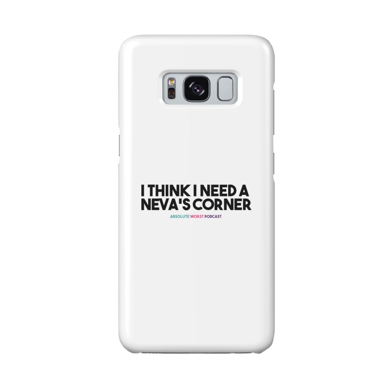 Neva's Corner Accessories Phone Case by Absolute Worst Podcast