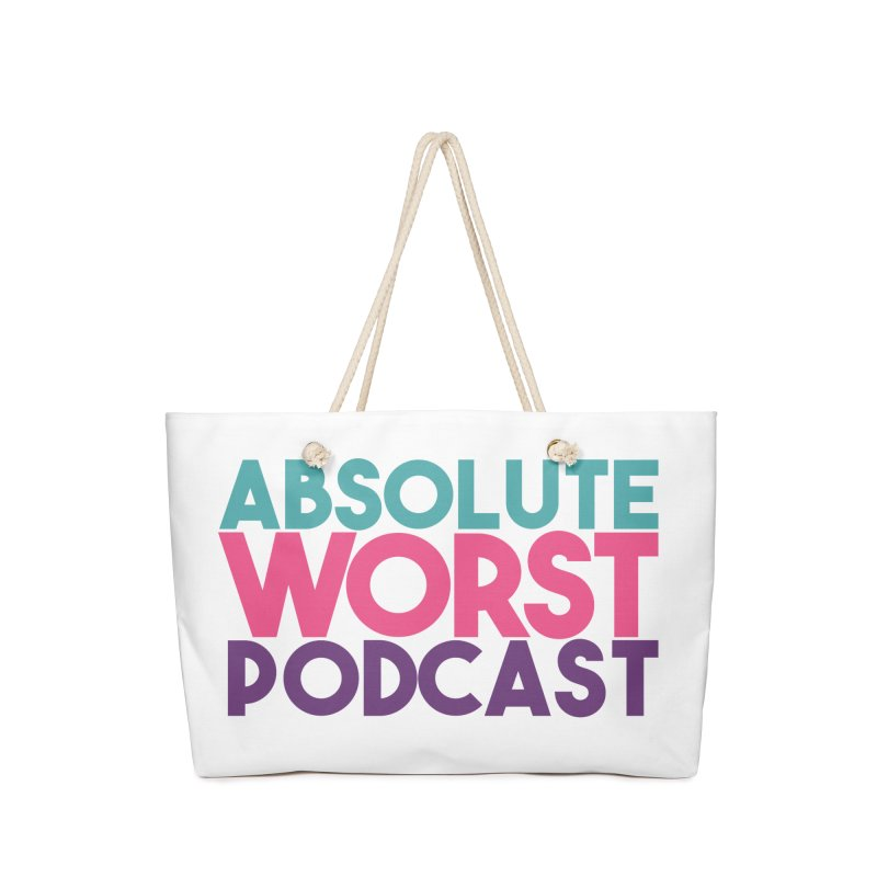 ABSLOUTE WORST PODCAST Accessories Bag by Absolute Worst Podcast