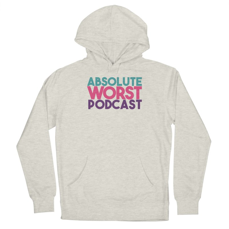 ABSLOUTE WORST PODCAST Men's Pullover Hoody by Absolute Worst Podcast