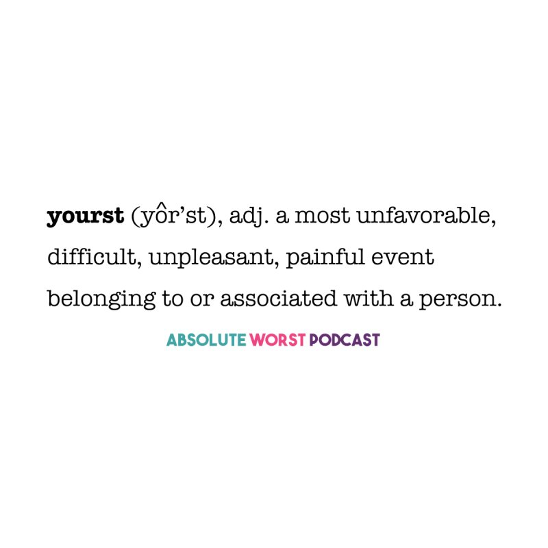 Yourst Accessories Zip Pouch by Absolute Worst Podcast
