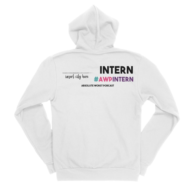 AWP Intern Men's Zip-Up Hoody by Absolute Worst Podcast