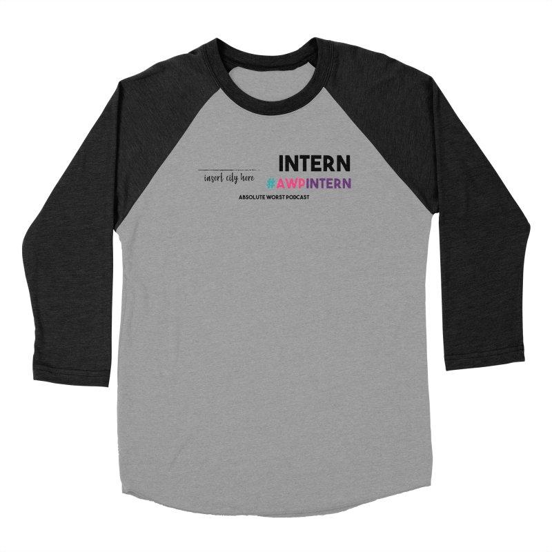 AWP Intern Men's Longsleeve T-Shirt by Absolute Worst Podcast