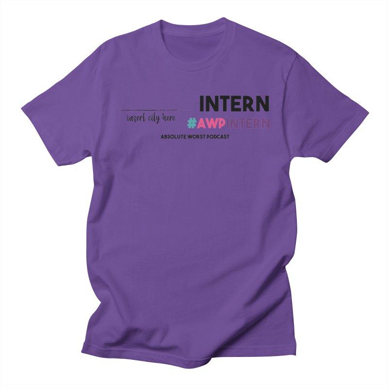 AWP Intern Men's Regular T-Shirt by Absolute Worst Podcast