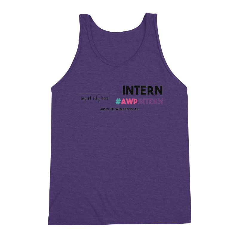 AWP Intern Men's Tank by Absolute Worst Podcast