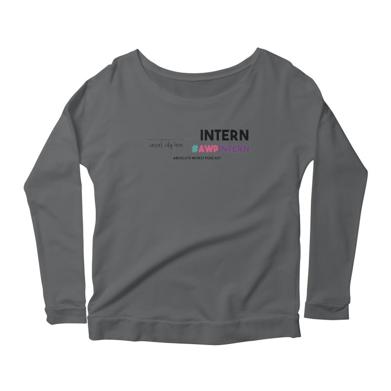 AWP Intern Women's Longsleeve T-Shirt by Absolute Worst Podcast