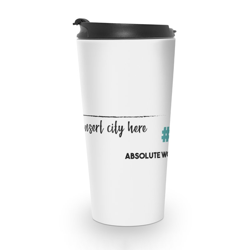AWP Intern Accessories Travel Mug by Absolute Worst Podcast
