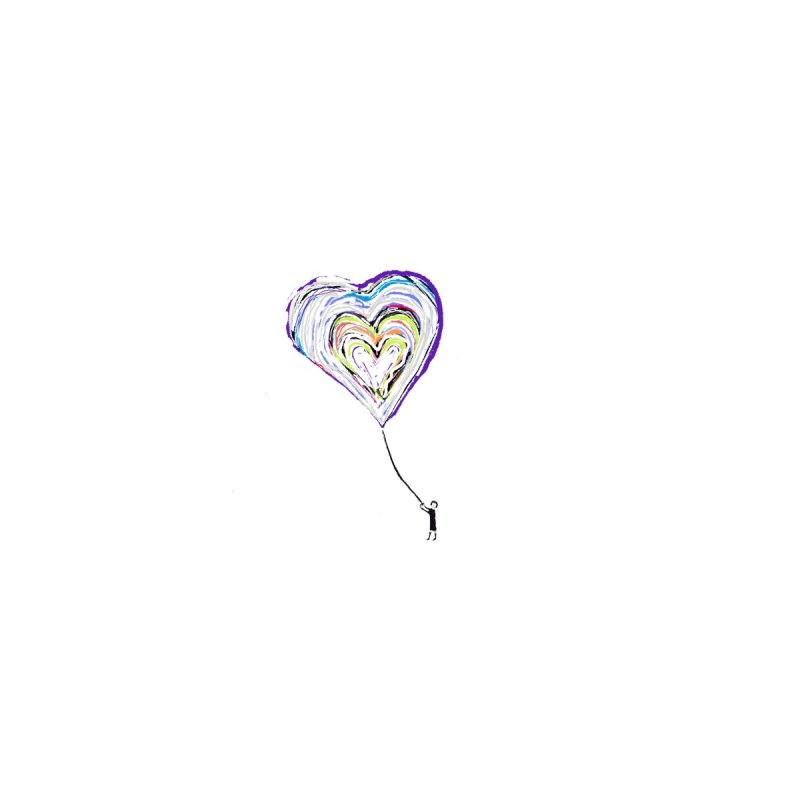 Technicolor Heart on a String by Abstract Bag Company