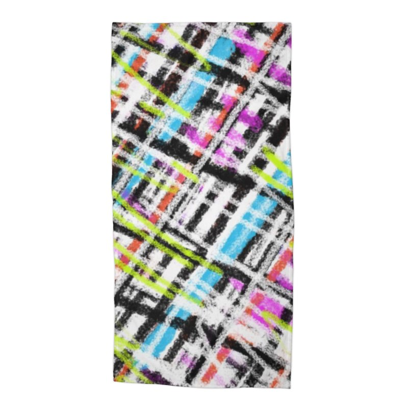 Sherlock has a Sister Accessories Beach Towel by Abstract Bag Company