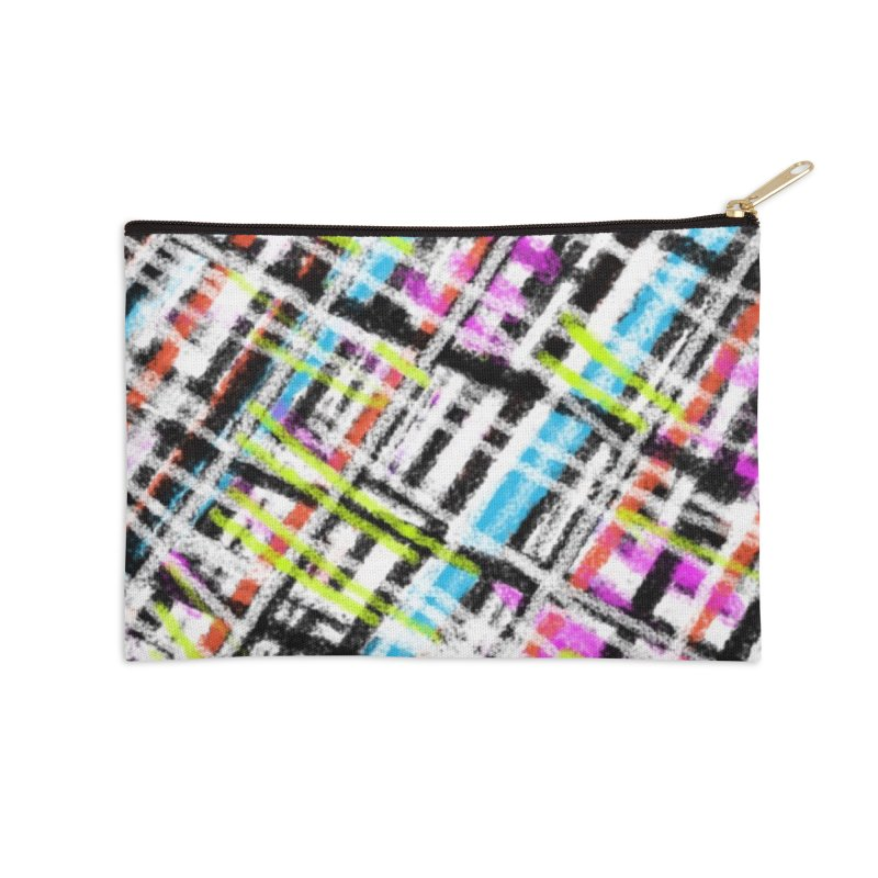 Sherlock has a Sister Accessories Zip Pouch by Abstract Bag Company