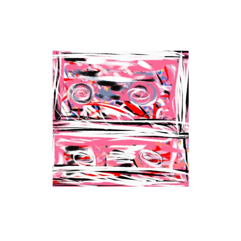 Pink Mix Tapes None  by Abstract Bag Company