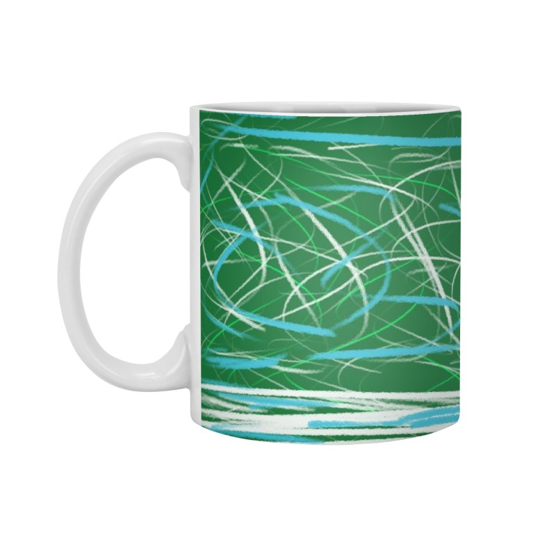 Green as Michael Stipe Accessories Standard Mug by Abstract Bag Company