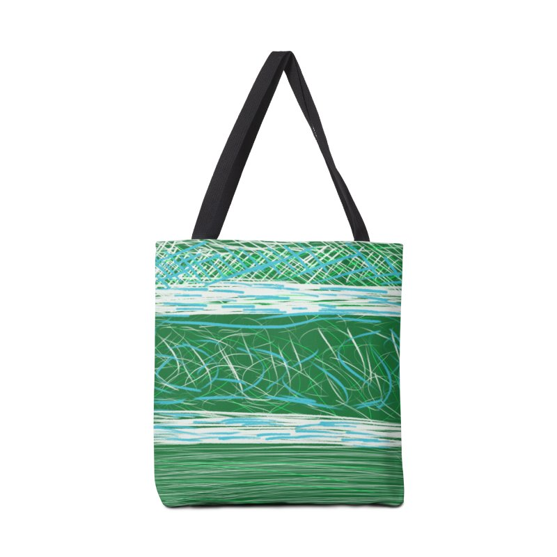 Green as Michael Stipe Accessories Bag by Abstract Bag Company