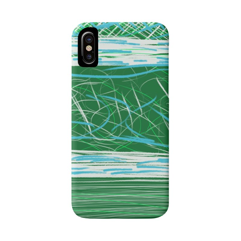 Green as Michael Stipe Accessories Phone Case by Abstract Bag Company