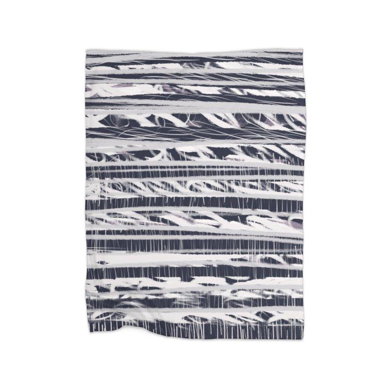 Polaroid Polar Bear Home Blanket by Abstract Bag Company