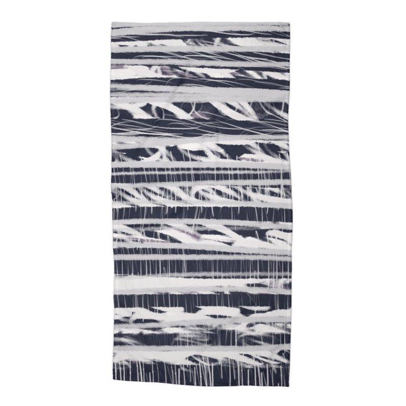 Polaroid Polar Bear Accessories Beach Towel by Abstract Bag Company