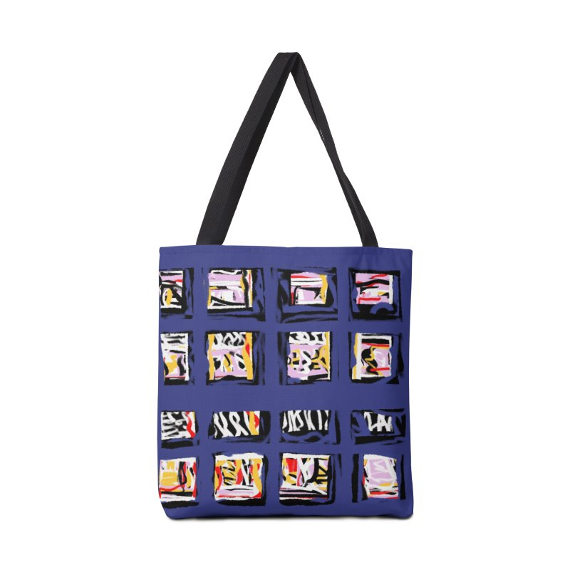 Parade O Squares Accessories Bag by Abstract Bag Company