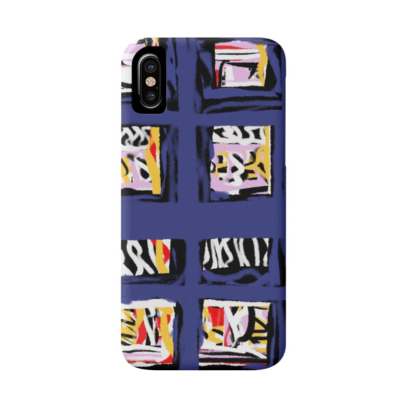 Parade O Squares Accessories Phone Case by Abstract Bag Company