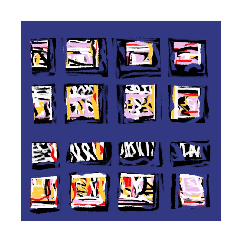 Parade O Squares None  by Abstract Bag Company