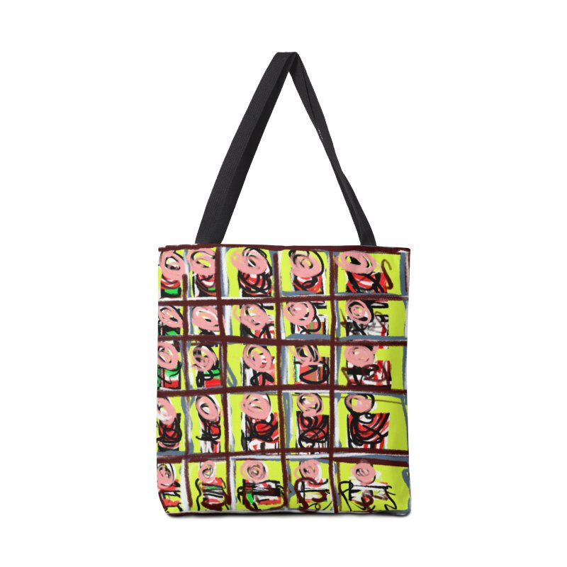 Nanny Nanny Pink Face Accessories Bag by Abstract Bag Company
