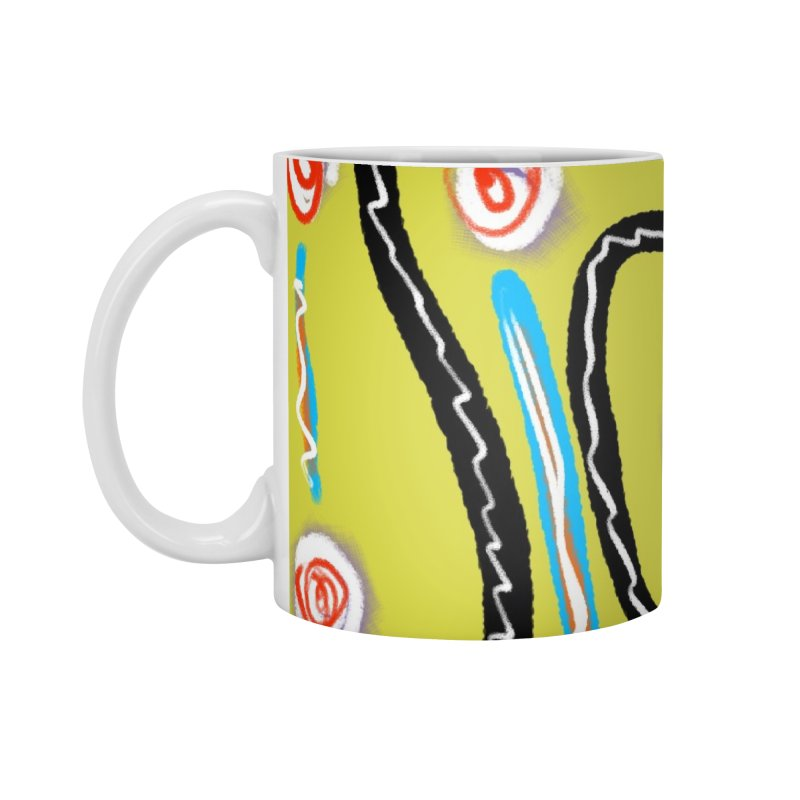 Tape Worms and Fireworks Accessories Standard Mug by Abstract Bag Company