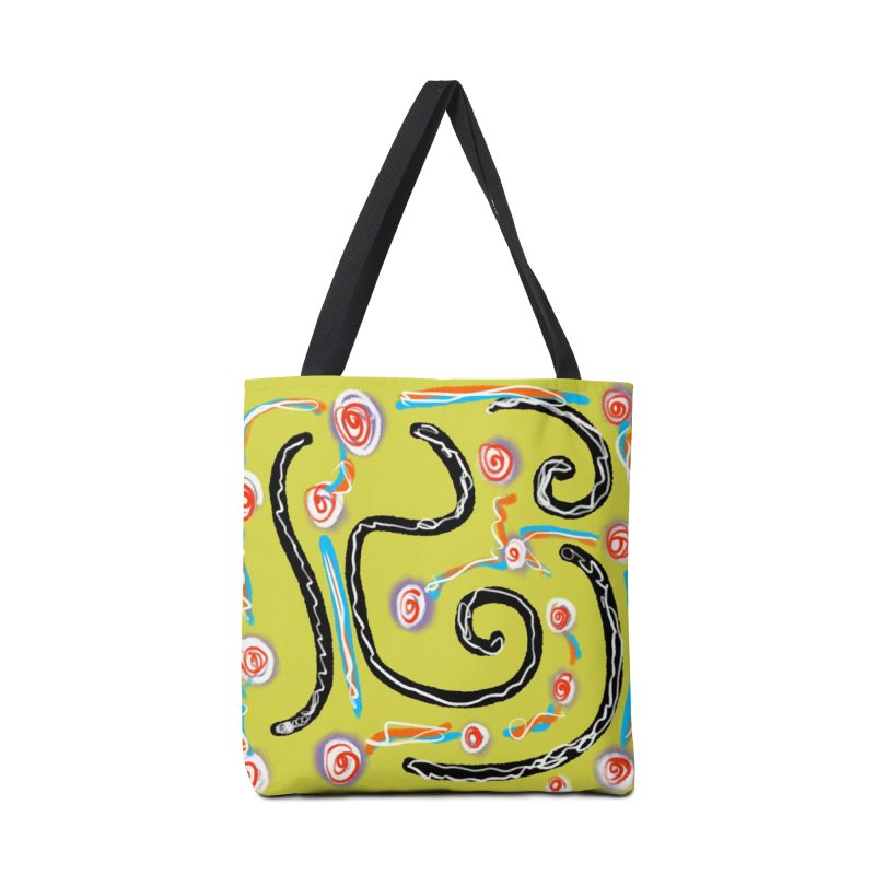 Tape Worms and Fireworks Accessories Bag by Abstract Bag Company