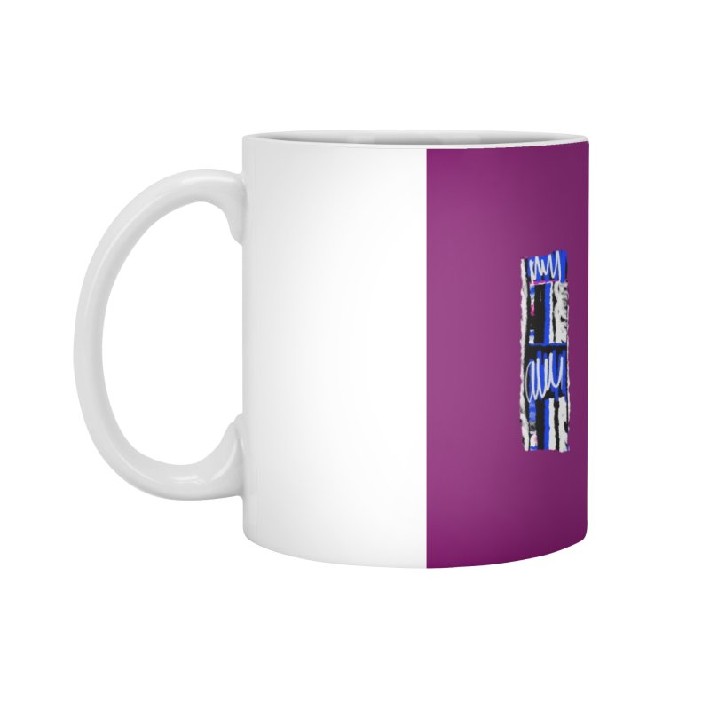 Purple Pylons for Prince Accessories Standard Mug by Abstract Bag Company