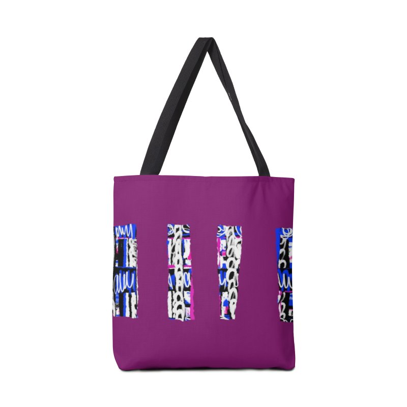 Purple Pylons for Prince Accessories Bag by Abstract Bag Company