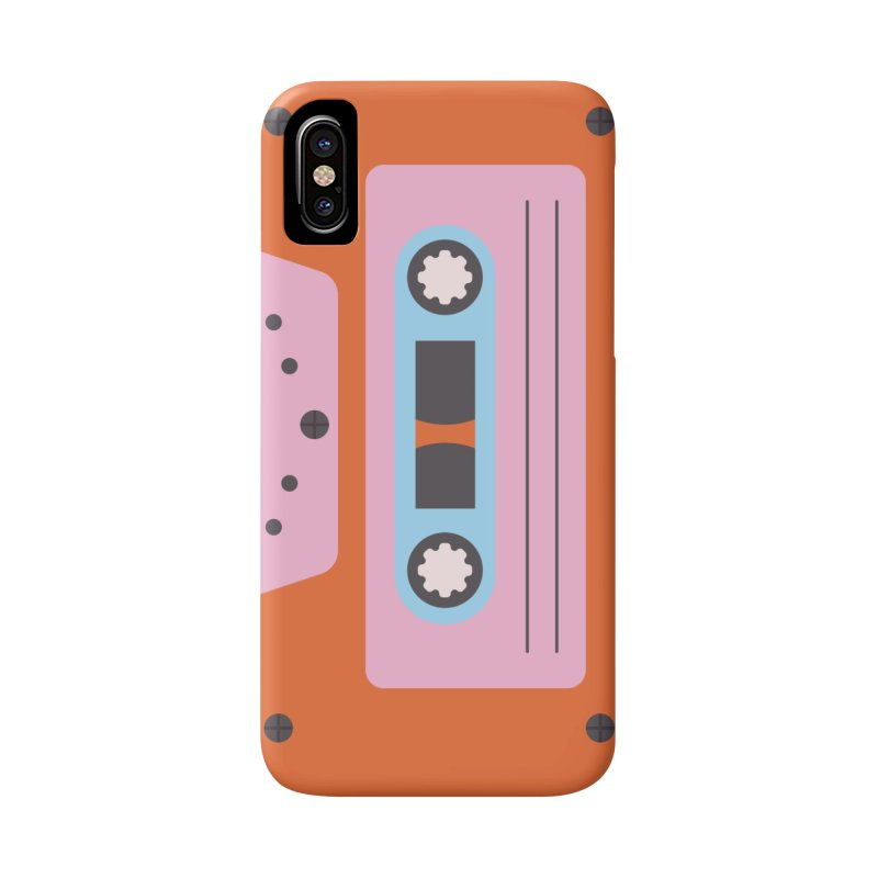 Cassette Tape in iPhone X / XS Phone Case Slim by abstractocreate's Artist Shop