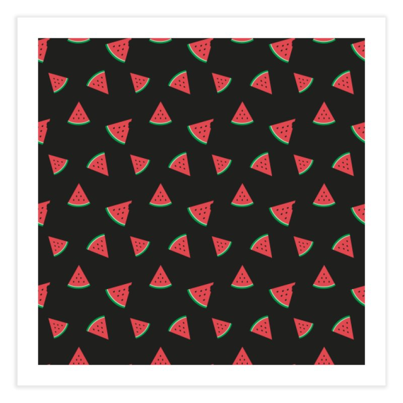 Watermelon Slice Home Fine Art Print by abstractocreate's Artist Shop