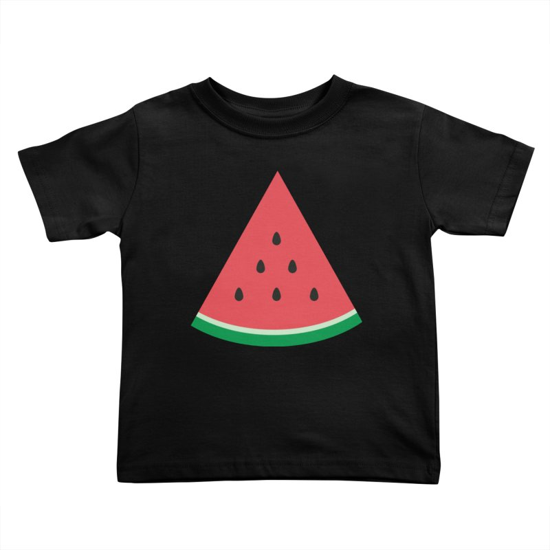 Watermelon Slice Kids Toddler T-Shirt by abstractocreate's Artist Shop