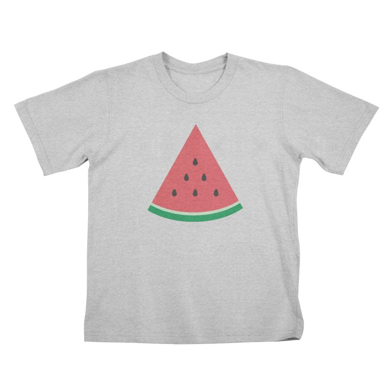 Watermelon Slice Kids T-Shirt by abstractocreate's Artist Shop