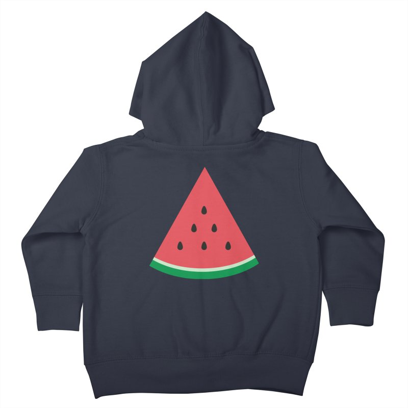 Watermelon Slice Kids Toddler Zip-Up Hoody by abstractocreate's Artist Shop