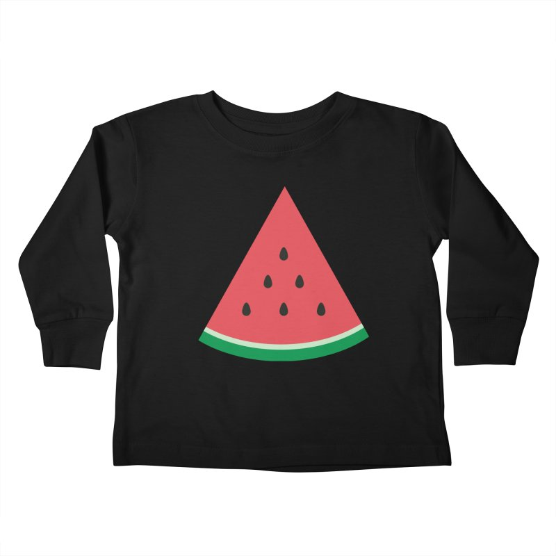 Watermelon Slice Kids Toddler Longsleeve T-Shirt by abstractocreate's Artist Shop