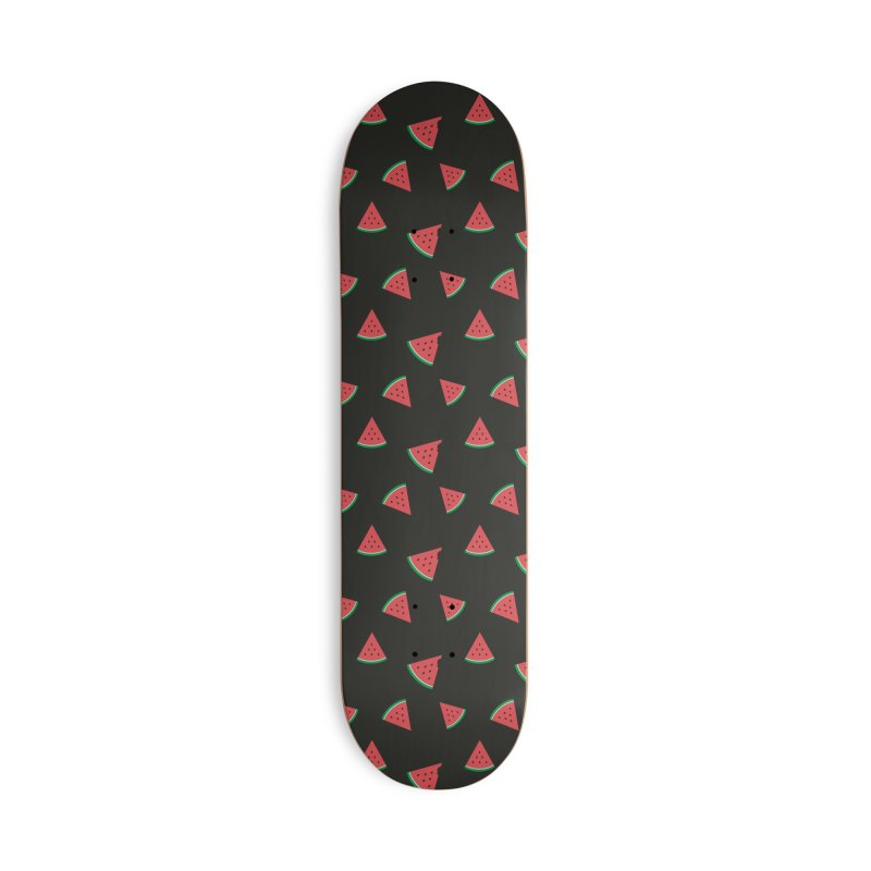 Watermelon Slice Accessories Deck Only Skateboard by abstractocreate's Artist Shop