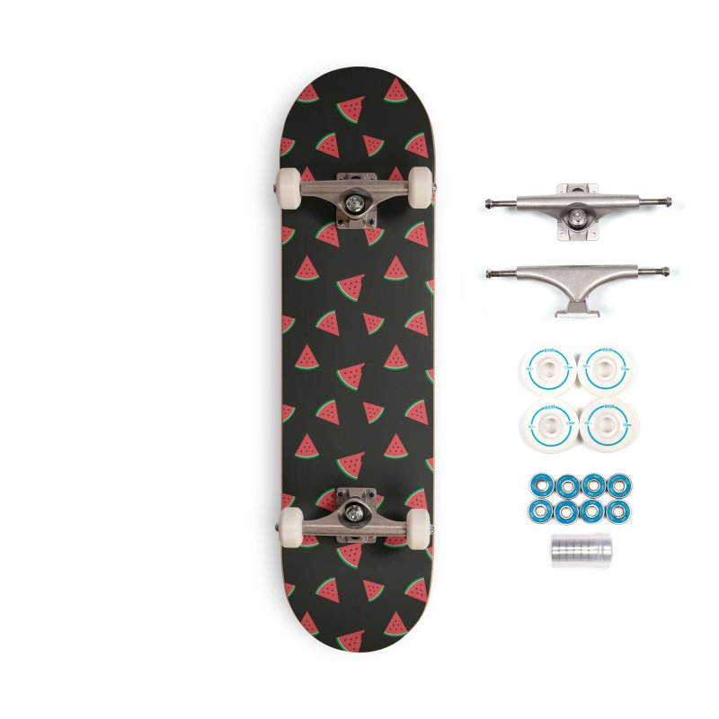 Watermelon Slice Accessories Complete - Basic Skateboard by abstractocreate's Artist Shop