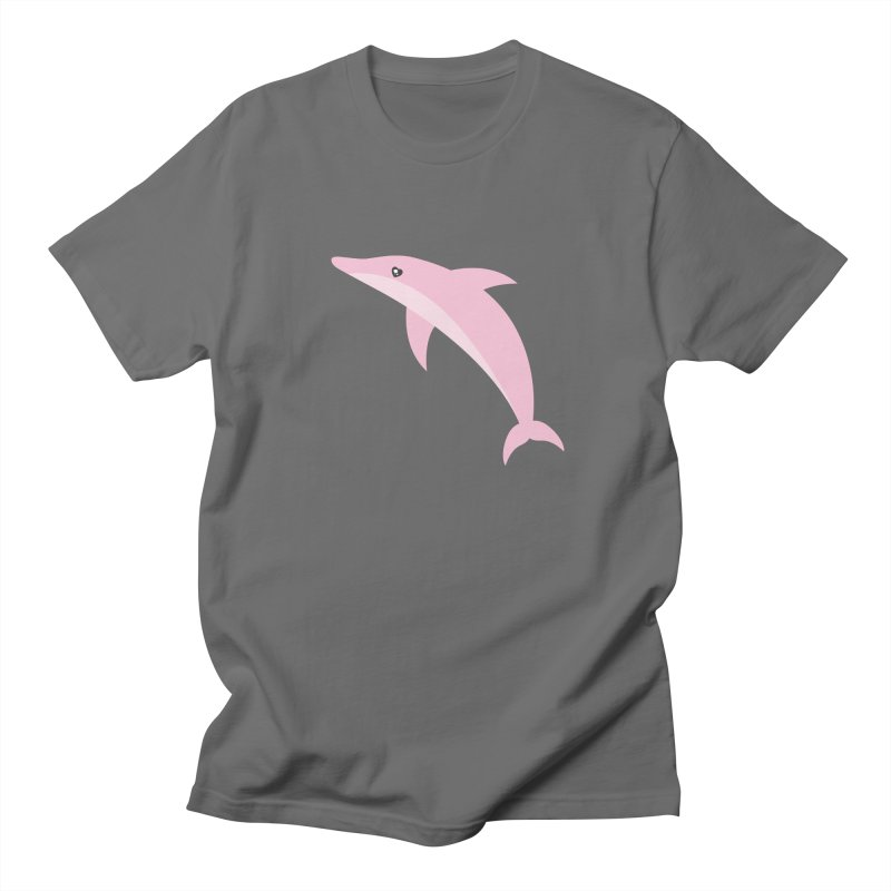 Pink Dolphin Men's T-Shirt by abstractocreate's Artist Shop