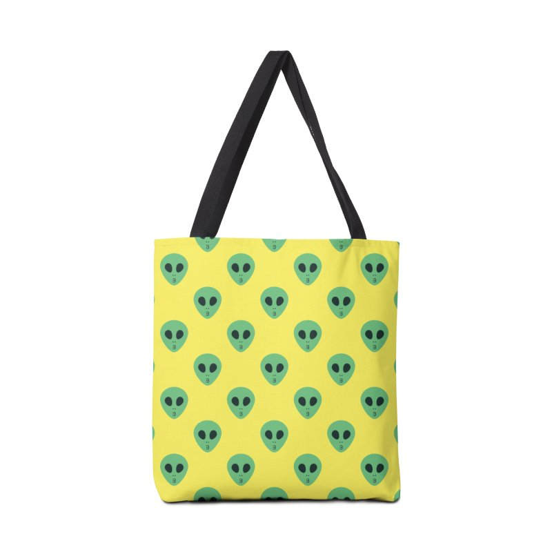 Alien Tumblr Accessories Tote Bag Bag by abstractocreate's Artist Shop