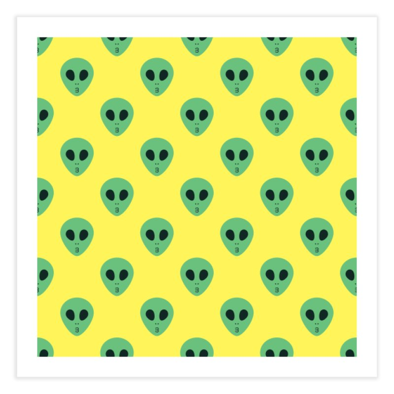 Alien Tumblr Home Fine Art Print by abstractocreate's Artist Shop