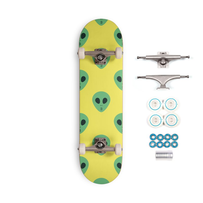 Alien Tumblr Accessories Complete - Basic Skateboard by abstractocreate's Artist Shop
