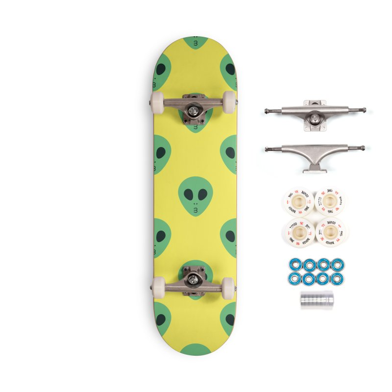 Alien Tumblr Accessories Complete - Premium Skateboard by abstractocreate's Artist Shop