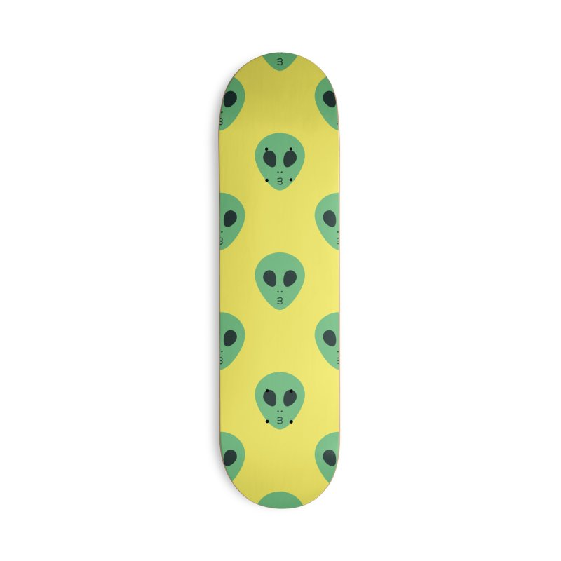Alien Tumblr Accessories Deck Only Skateboard by abstractocreate's Artist Shop