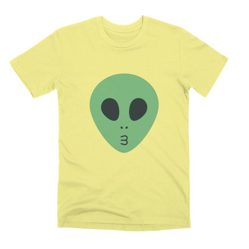 Alien Tumblr Men's Premium T-Shirt by abstractocreate's Artist Shop