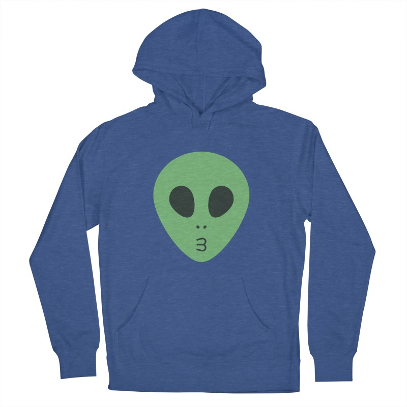 Alien Tumblr Women's French Terry Pullover Hoody by abstractocreate's Artist Shop