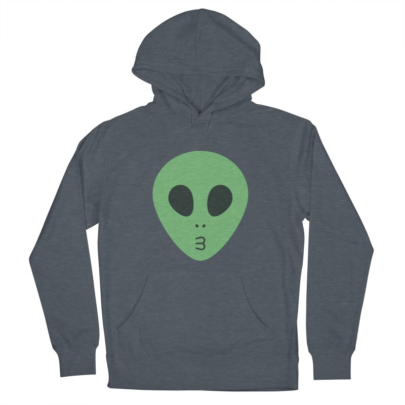 Alien Tumblr Men's French Terry Pullover Hoody by abstractocreate's Artist Shop